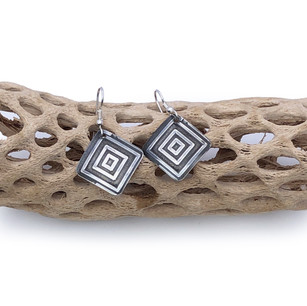 Sterling Silver Earrings - For Squares