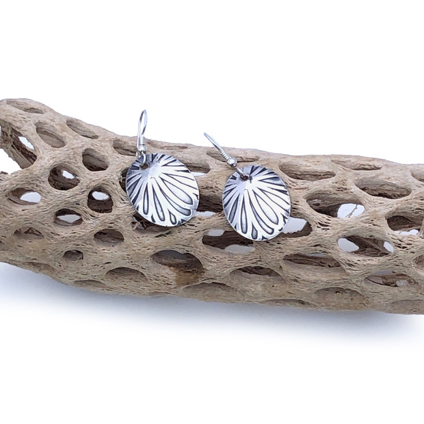 Sterling Silver Earrings - Petals
