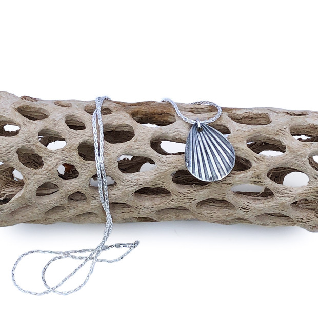 Sterling Silver Pendant- Shell