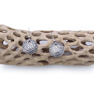 Sterling Silver Earrings- Lattitudes