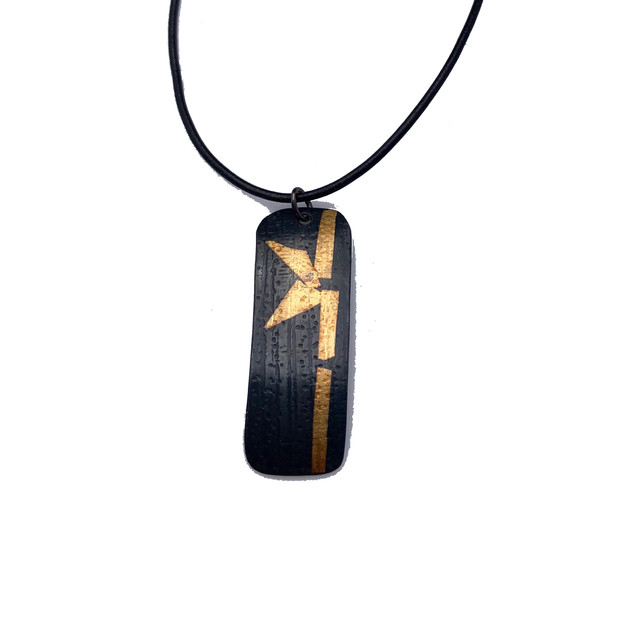 Keum Boo Pendant - Bamboo