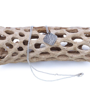 Sterling Silver Pendant- Reeds