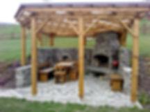 Zahradní nábytek, venkovní nábytek, pergola na zahradu, zahradní krb, stoly na zahradu, výroba zahradního nábytku