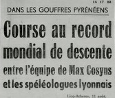 Course au record