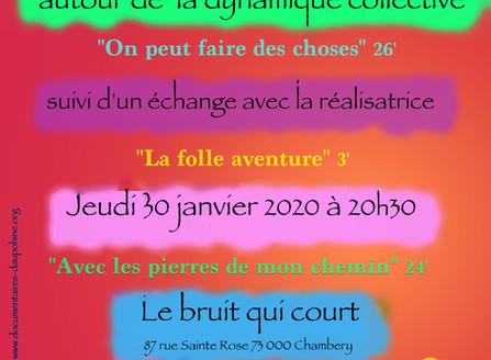 projection à Chambéry le 30 janvier 2020