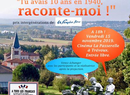 Projection à Trévoux (01) le 15 novembre à 18h