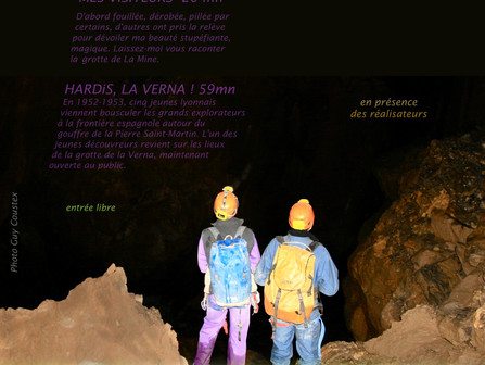"PROJECTION ""HARDiS, la Verna ! """