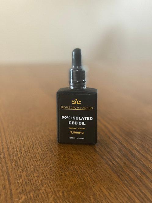 3,500mg 99% Isolated Hemp Oil 30ml