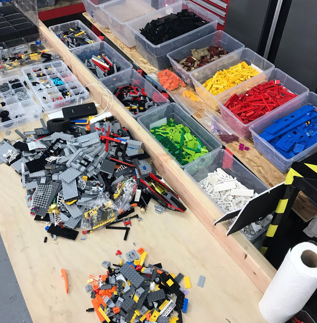 LEGO Beyond the Instructions Lego Sorting Time!