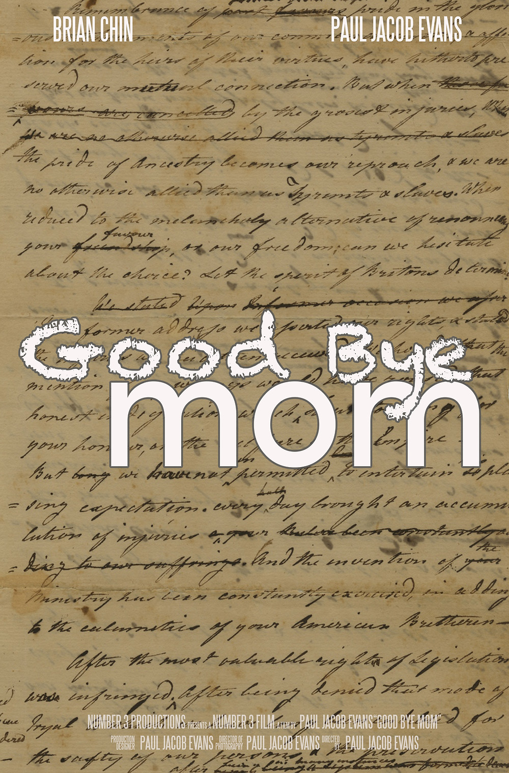 Paul Jacob Evans | Good Bye Mom