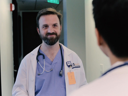 """Playing Dr. McKay in """"Medical Emergency"""""""