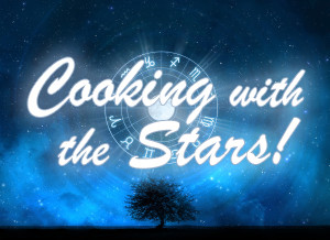 """Playing Peter in the comedy pilot """"Cooking with the Stars"""""""