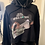 Thumbnail: You Can Have Your Space Cowboy Black Cropped Hoodie