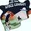 Thumbnail: Space Cowboy Black Crop Tee