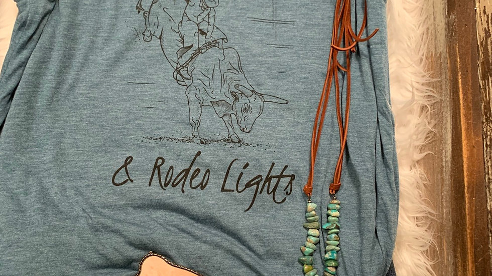 Summer Nights & Rodeo Lights Tee.