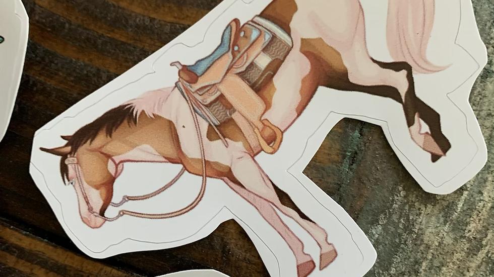 Pinto Pony Sticker