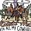 Thumbnail: Raisin' Hell With All My Cowgirls Grey Acid Wash Tee