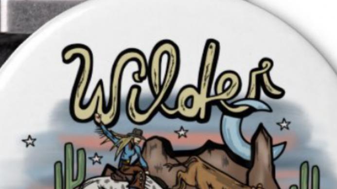 Wilder Than The Rest Magnetic Bottle Opener