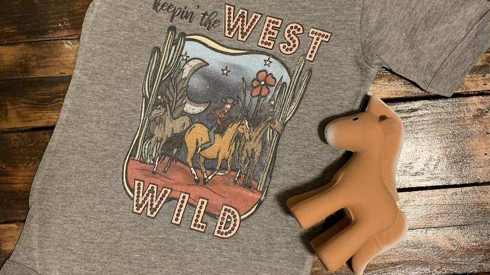 Keepin' The West Wild Infant Onesie (Print on Demand)