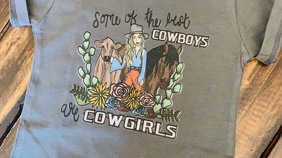 Some Of The Best Cowboys Are Cowgirls Infant Tee (Print on Demand)