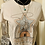 Thumbnail: Keeper' Of The Stars Heather Dust Flowy Crop Top