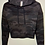 Thumbnail: Cosmic Cowgirl Black Camo Cropped Hoodie