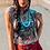 Thumbnail: Keepin' The West Wild Heather Grey Rolled Sleeve Tee