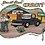 Thumbnail: Urban Cowboy Black Cropped Crewneck
