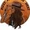 Thumbnail: Meet Me In The West Heather Dust Flowy Crop Top