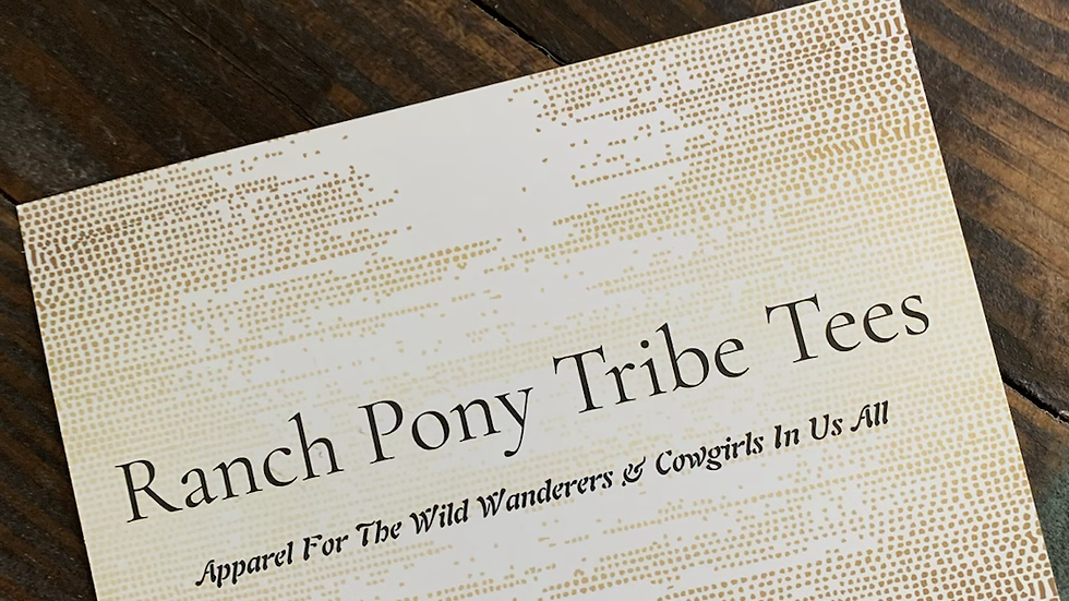Ranch Pony Tribe Tees Gift Card