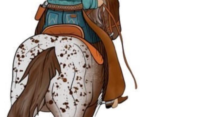 Long Live Cowgirls Heather Dust Crop Tee (Pre Order ETA 4/30)