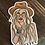 Thumbnail: Boho Cowgirl Sticker