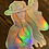 Thumbnail: Space Cowgirl Holographic Sticker