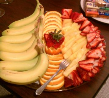 Small Fruit Display (Office Party)