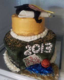 Grad Cake (Beach Time)