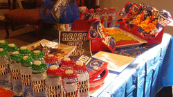 Sports Themed Snack Table