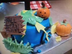 Fall Festival Cake