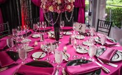 Pink & Black Luncheon