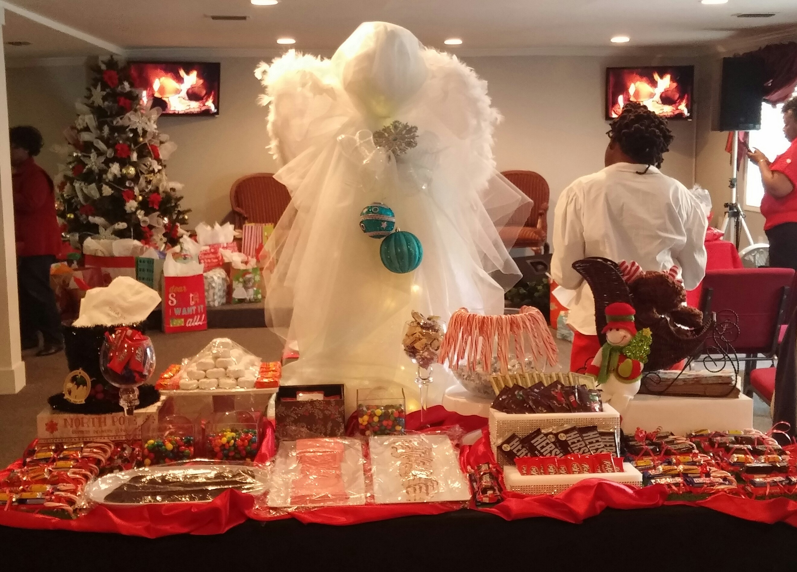 Candy Buffet - Kids Angel Tree Party