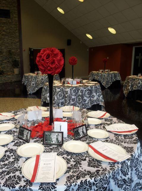 Red, Black & White Reception