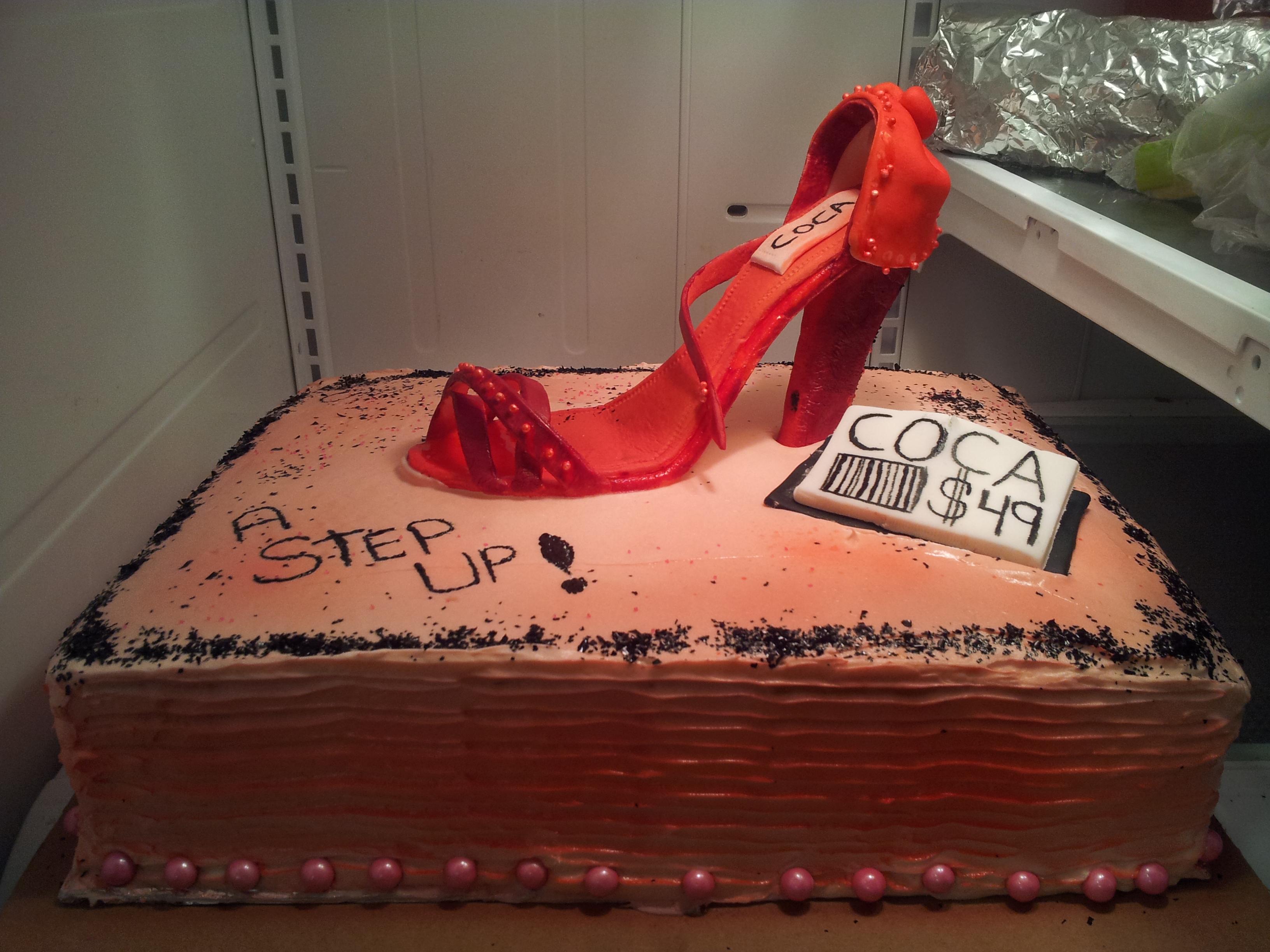 Flat Shoe Cake - Office Promotion