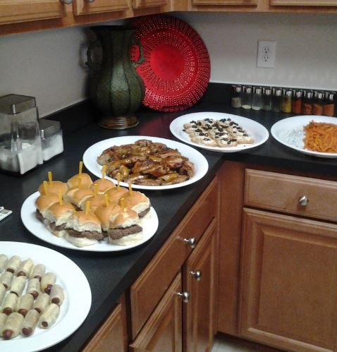 Appetizer Buffet-Small Private Party