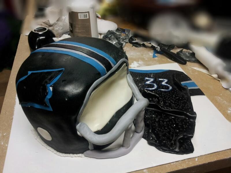 Panthers Cake