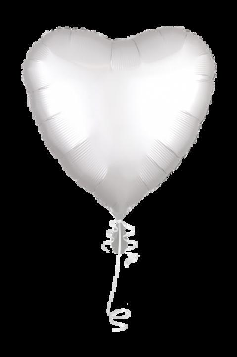 Folienballon Herz 45cm ø