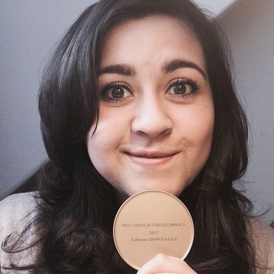Adriana Gonzalez, Prix Carpeaux 2017