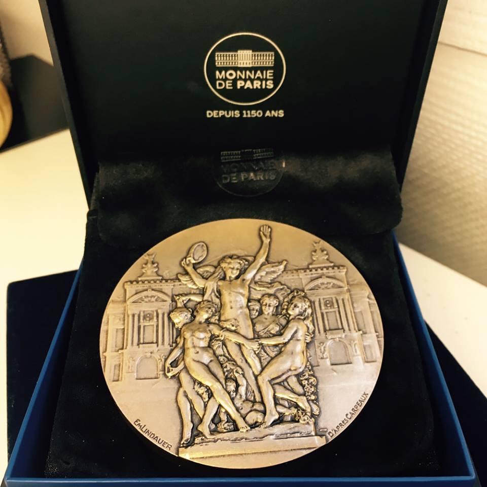 Prix Carpeaux 2017 Medal