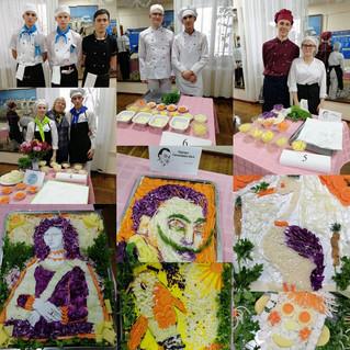 Конкурс - виставка композицій з овочів!