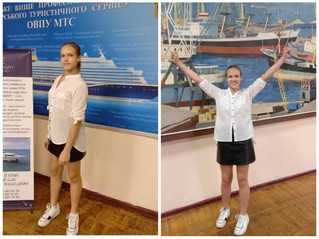 Вітаємо з успішним вступом  Литвинову  Поліну Андріївну !