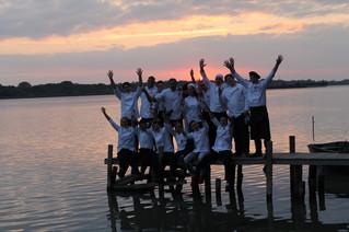 Неймовірна команда студентів нашого училища,яка готувала рекордну рибну Юшку в рамках гастрономічног