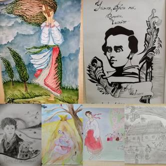 Виставка - конкурс ілюстрації до творів Т.Г.Шевченка